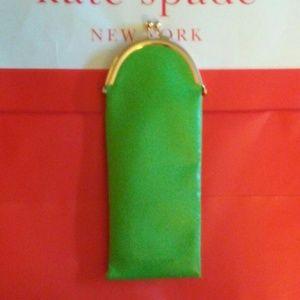 Kate Spade Women's Green Eyeglasses Wink Wink Leat